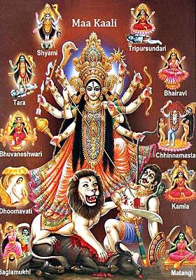 mahavidya-goddesses